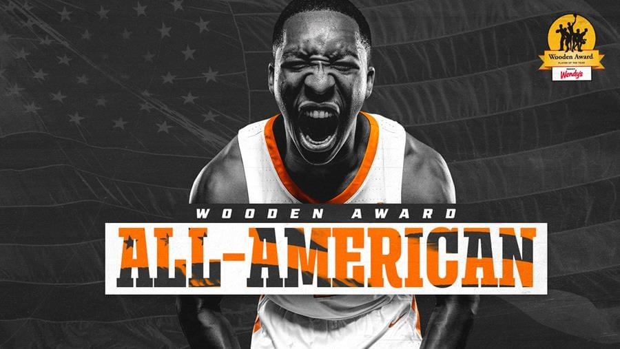 Williams Named to Wooden Award All-American Team, Finalist for Wooden Award Trophy