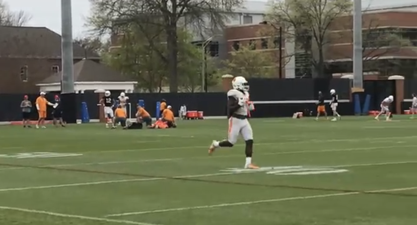 VIDEO: 2019 Tennessee Football Spring Practice #11 Highlights (4.4.19)