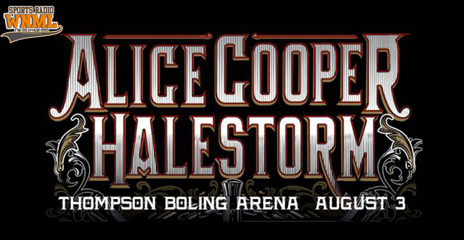 Alice Cooper & Halestorm at Thompson-Boling Arena