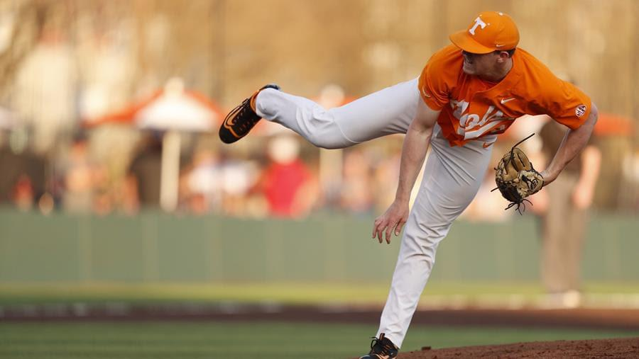 Vols Use Dominant Pitching Performance to Even Series with No. 5 Mississippi State