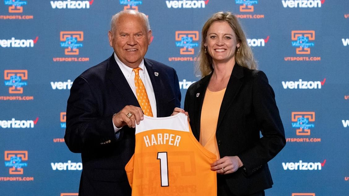 Kellie Harper Introduced as Head Coach of Lady Vol Basketball