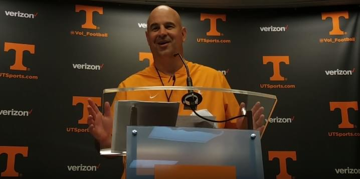 "Video: Jeremy Pruitt spring postgame ""We've really got to shore-up our offensive line"""