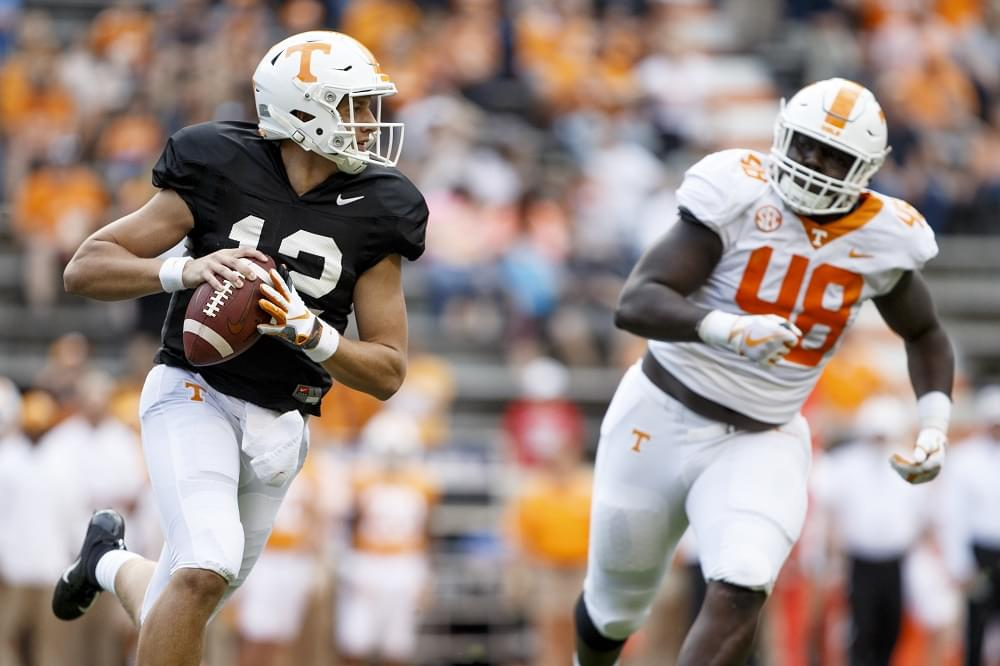 the latest 210d4 1a54a KNOXVILLE, TN - 2019.04.13 - 2019 Chevrolet Orange and White game