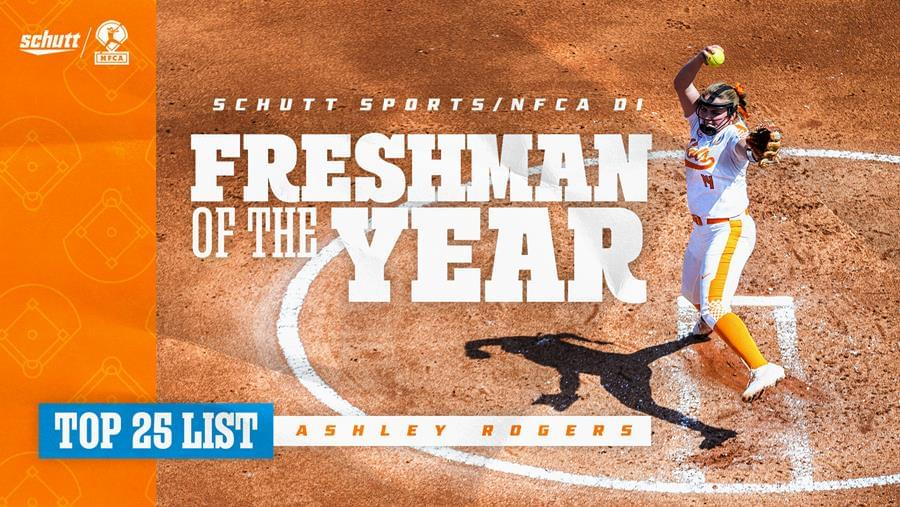 Rogers Named to Schutt Sports/NFCA National FOY Top 25 List