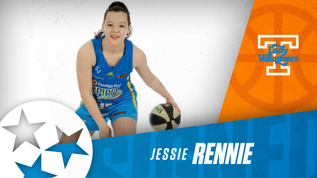 Australian Three-Point Specialist Jessie Rennie Signs with Lady Vols