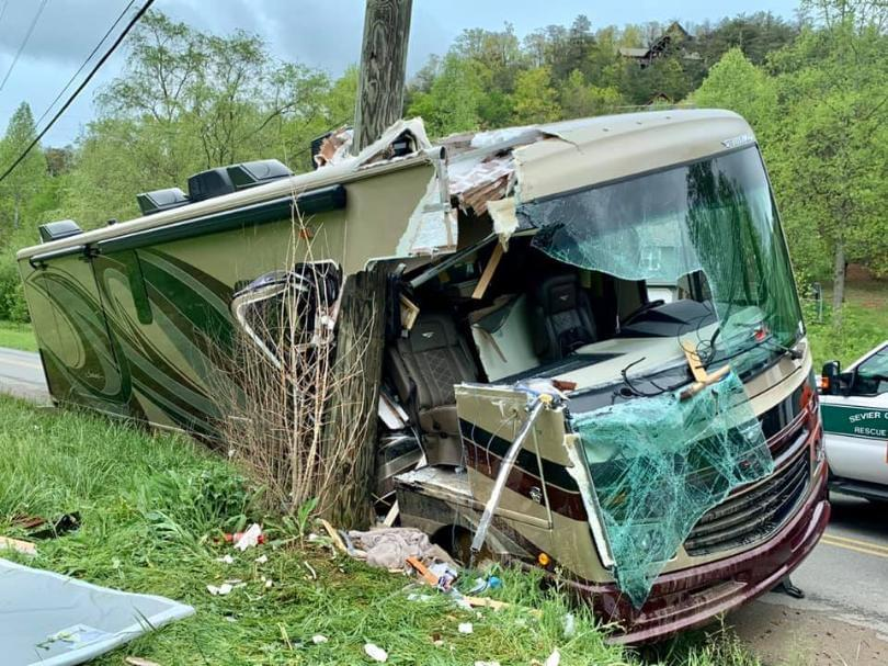 RV Crash in Wears Valley