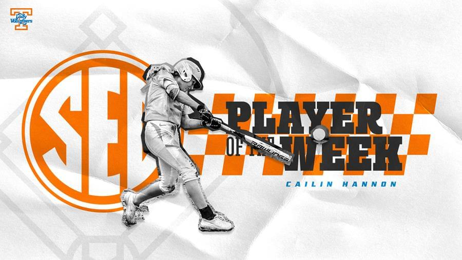 Hannon Named SEC Player of the Week