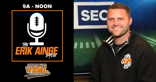 The Erik Ainge Show with Brian Rice (9a-12p)