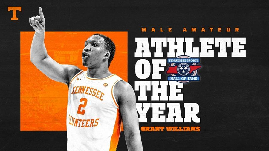 Williams Repeats as TNSHOF Male Amateur Athlete of the Year