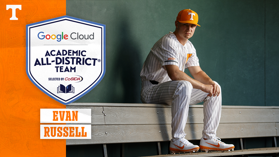 Russell Named to Google Cloud Academic All-District Team