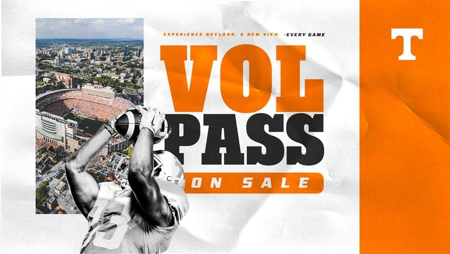 Vol Pass for Football on Sale Now