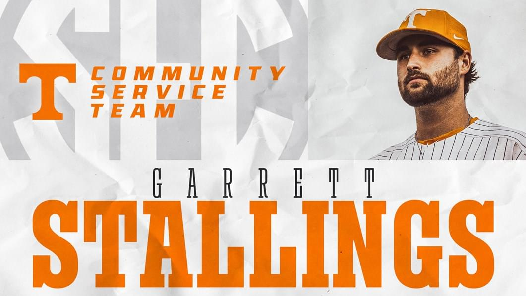 Stallings Named to SEC Community Service Team