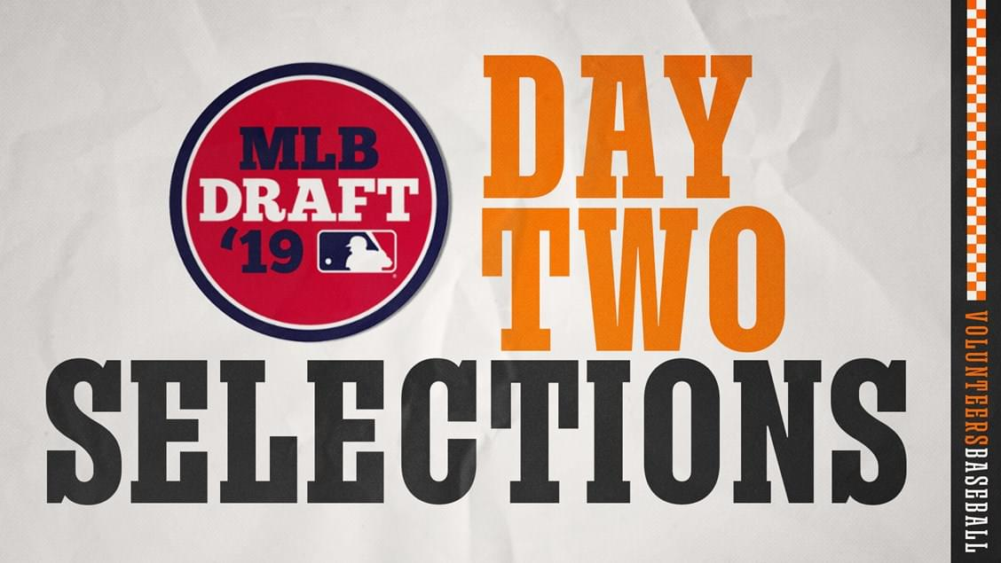 Four Vols Selected on Day 2 of MLB Draft