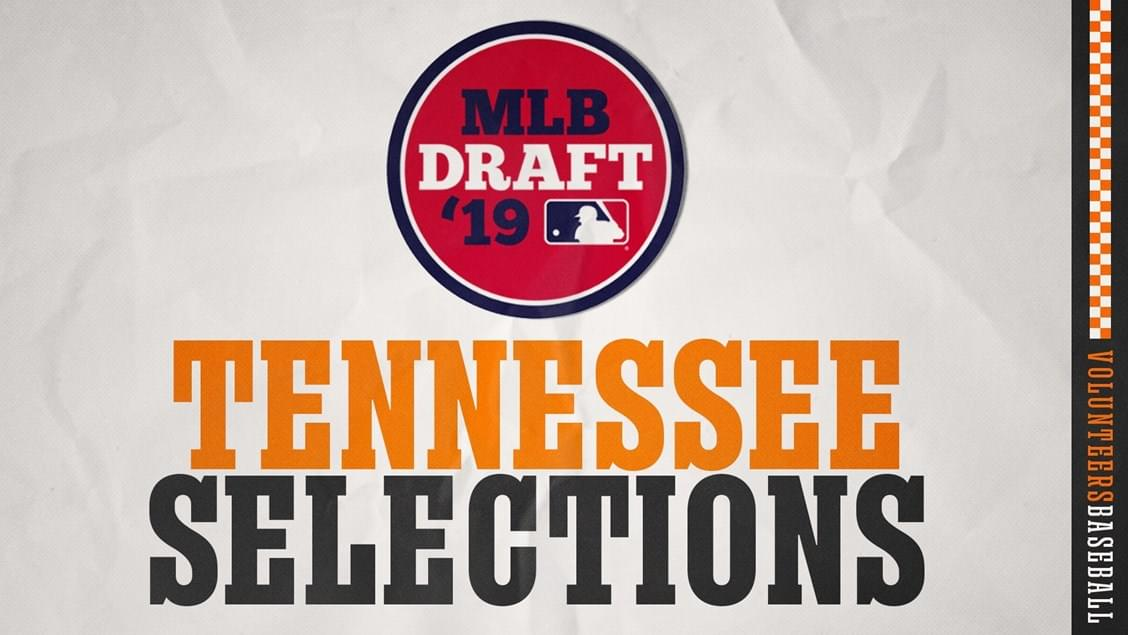 Six Vols Selected in 2019 MLB Draft