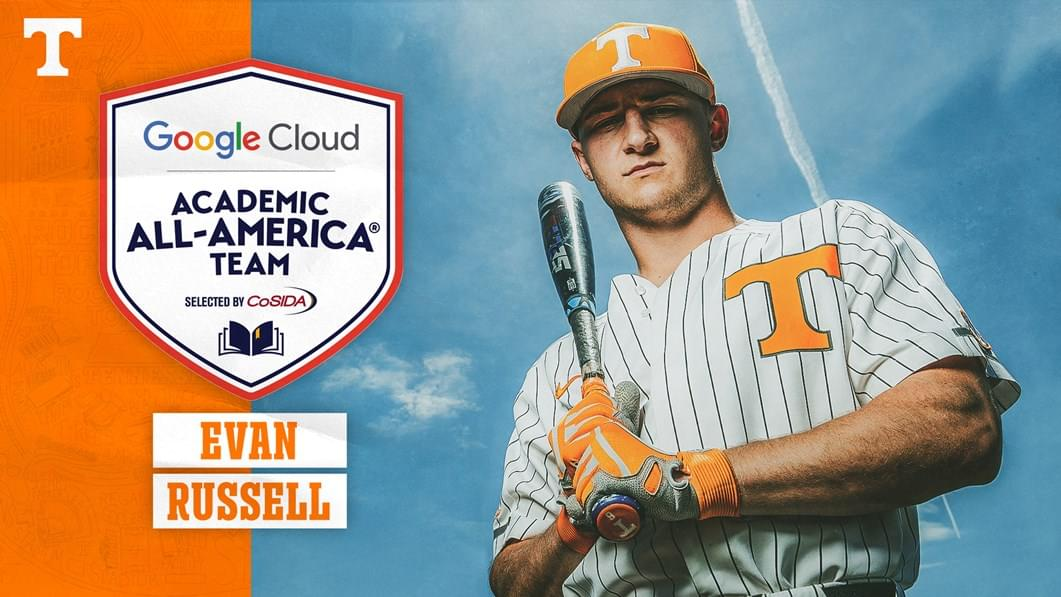 Evan Russell Named to Google Cloud Academic All-America Third Team