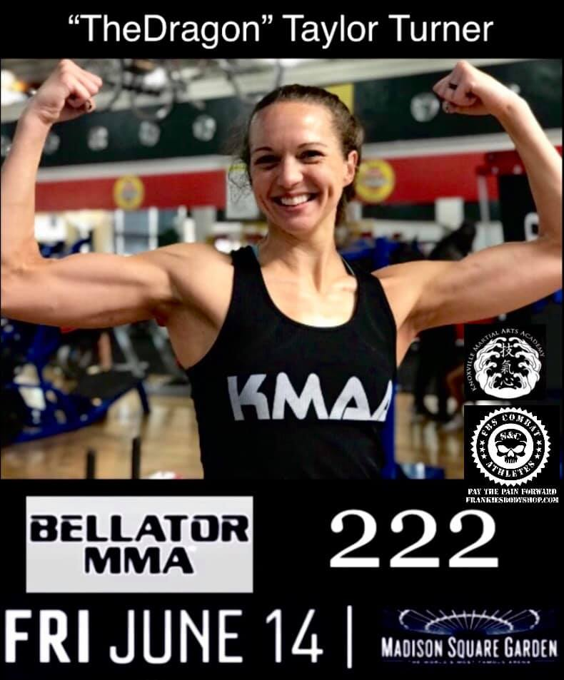 Interview: Knoxville's Taylor Turner talks main card fight on Bellator 222 at MSG