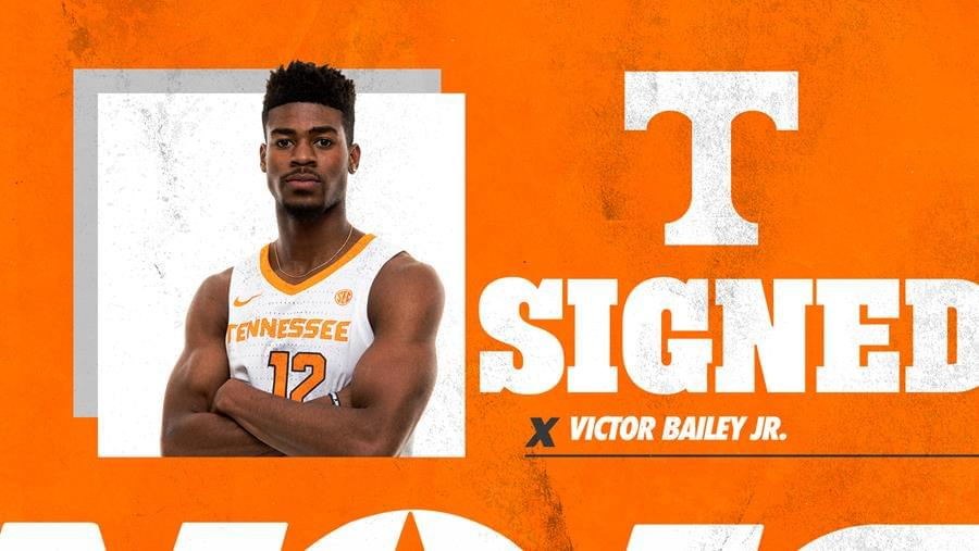 Vols Sign Transfer Guard Victor Bailey Jr.​