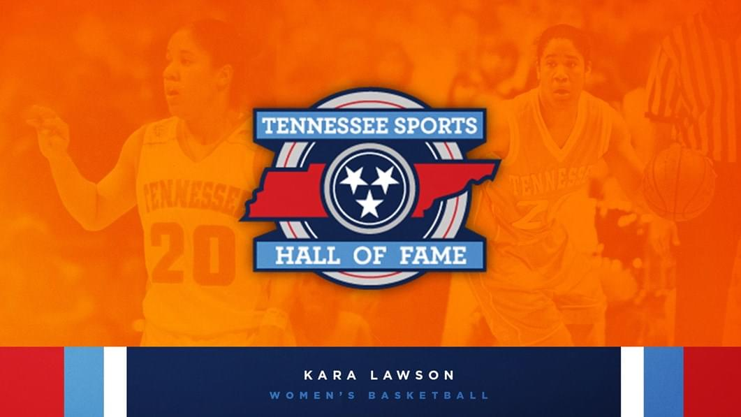 Lady Vols' Kara Lawson Going into Tennessee Sports Hall