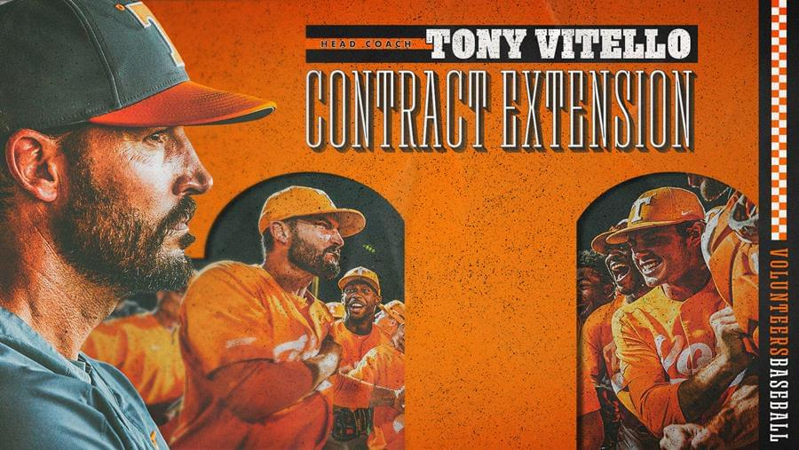 Fulmer announces contract extension for Tony Vitello