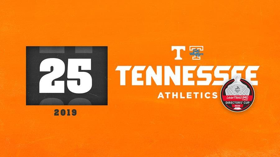 Tennessee Finishes Strong in Directors' Cup, Lands in Top 25