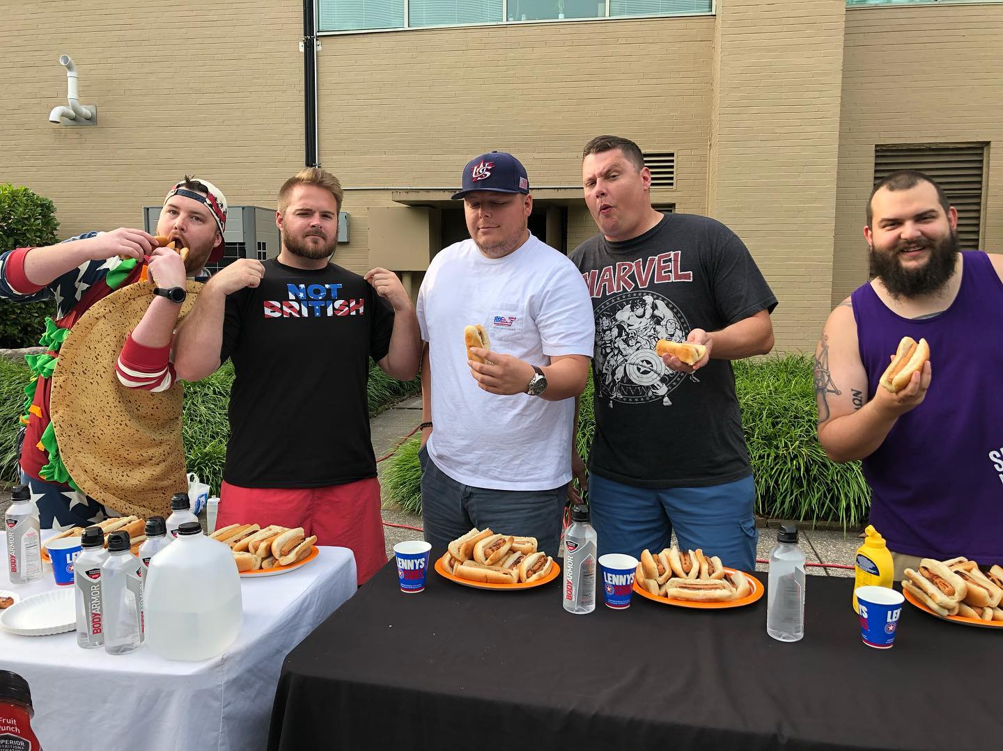VIDEO: Will West Wins 3rd Annual Hotdog Eating Contest