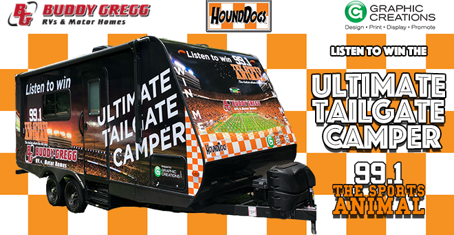 Ultimate Tailgate Camper