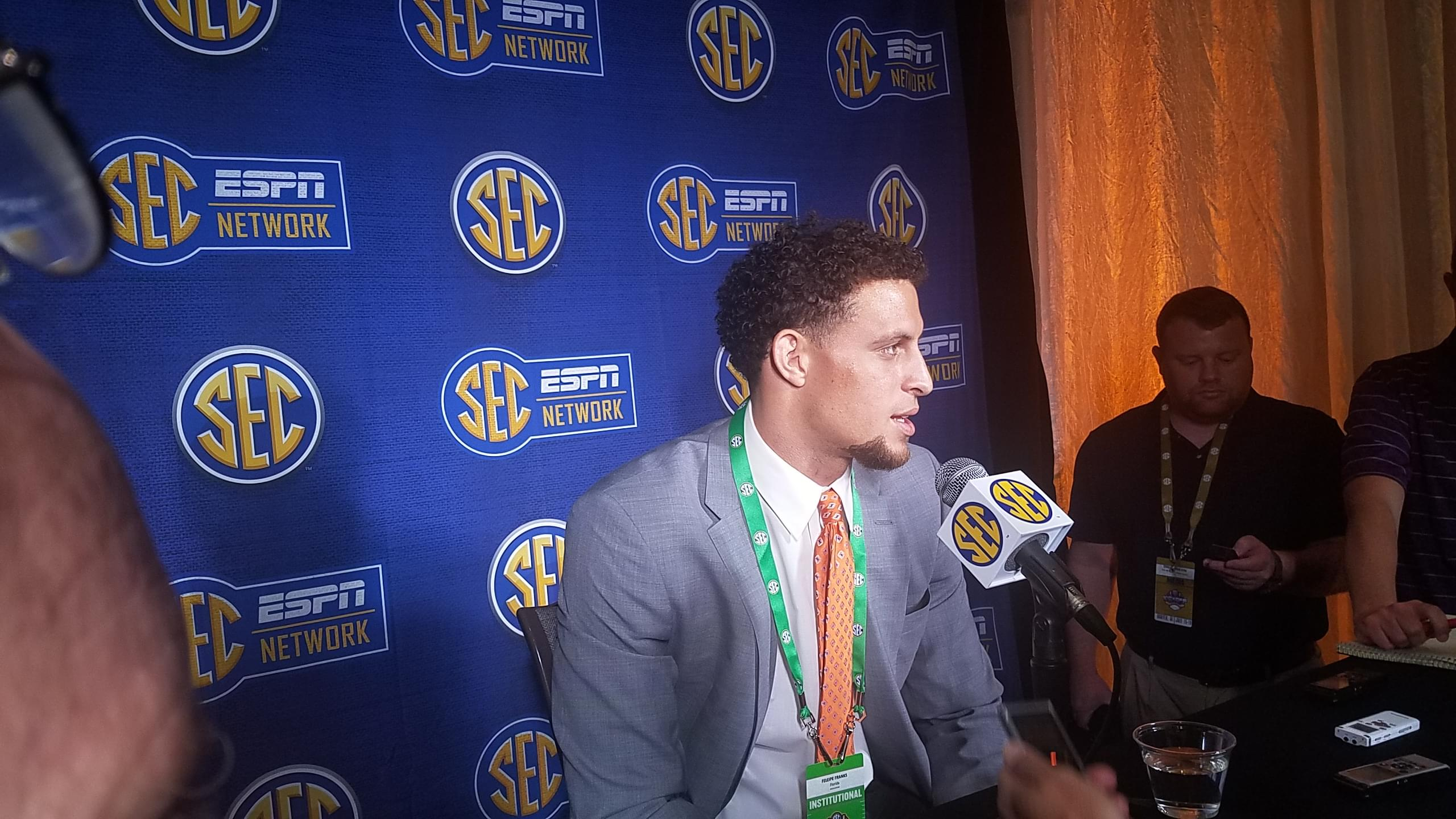 """Videos: Franks on Guarantano """"He's a guy I love being around"""""""