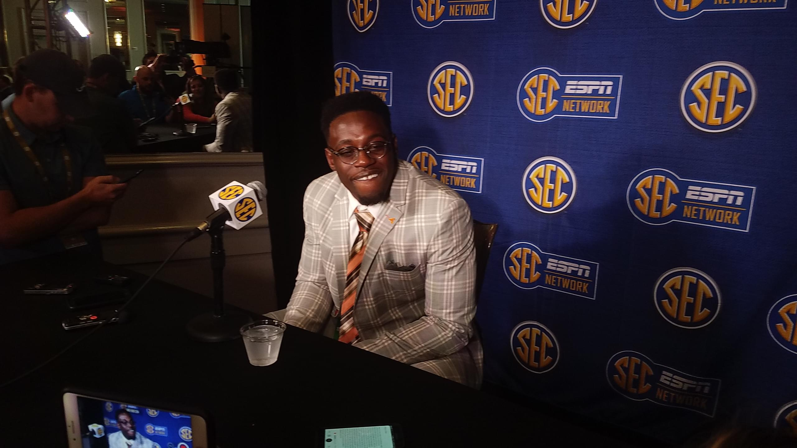 "Audio: Daniel Bituli ""Coach Pruitt is a character"""