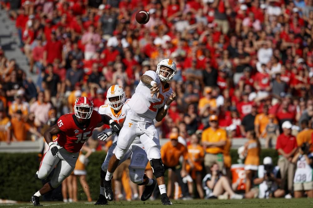 "Audio: Guarantano on why Chandler didn't catch more passes last season ""I don't know why that was to be honest"""