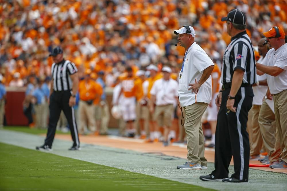 "Audio: Pruitt on if he sees Chaney as HC of the offense ""Oh yeah, absolutely"""