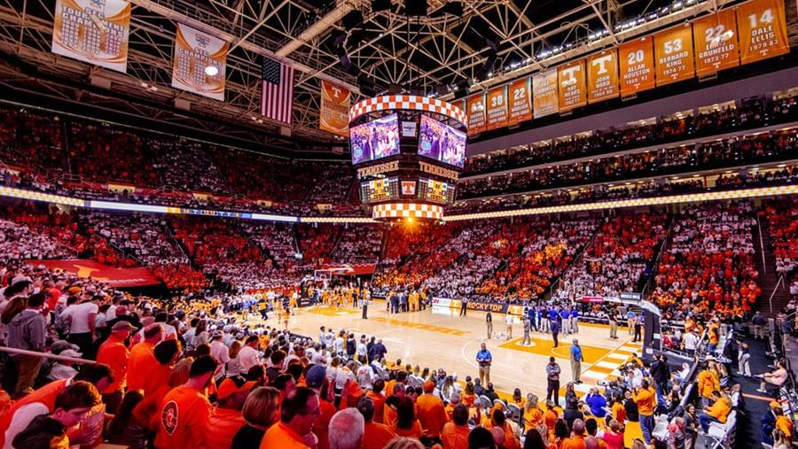 """Vols Fans """"Fed the Floor"""" at an Elite Rate at Thompson-Boling Arena"""