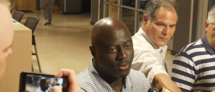 """Video: Rumph on Taylor """"He's the face of the defense right now"""""""