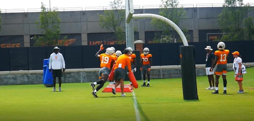 Video: Tennessee football fall practice 8 highlights