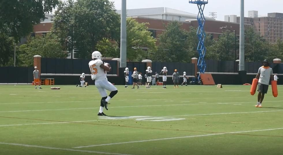 Video: Tennessee football fall practice 10 highlights