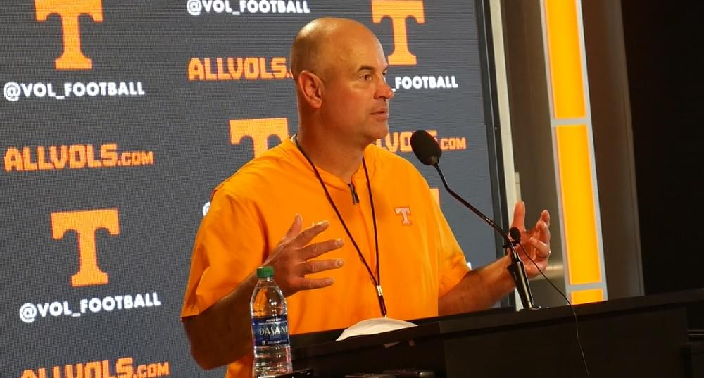 Video: Pruitt on Inky speaking to team, player effort, how Guarantano has practiced