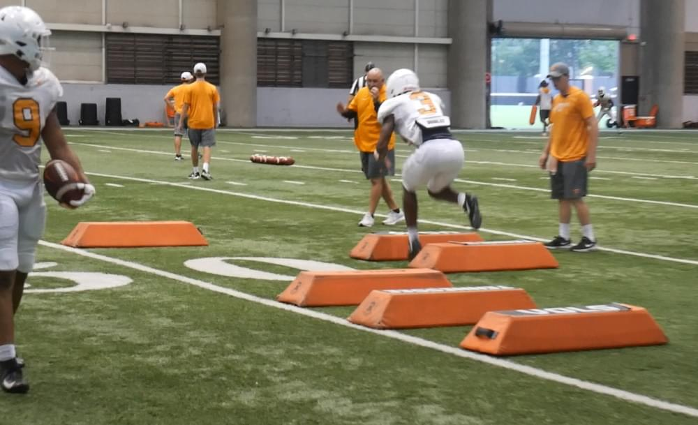 Video: Tennessee football fall practice 19 highlights