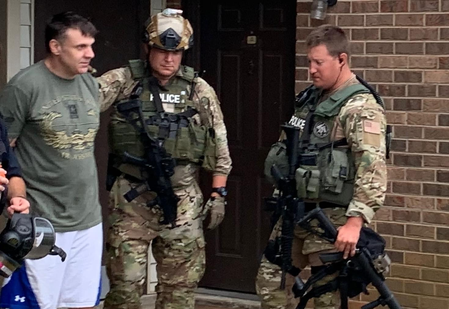 Barricaded Suspect Arrested in Morristown