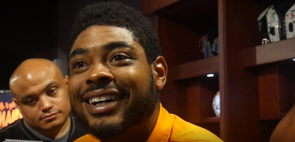"""Video: Jauan Jennings can't contain his excitement to play and """"see how my brothers ball"""""""