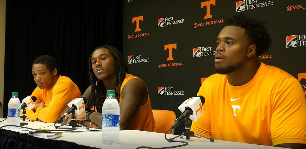 "Video: Warrior, Callaway, Kennedy in Ga St postgame ""They had more want-to than we did"""