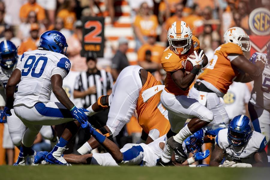 UT stunned by Ga St 38-30, first non-Power 5 conference loss since 2008