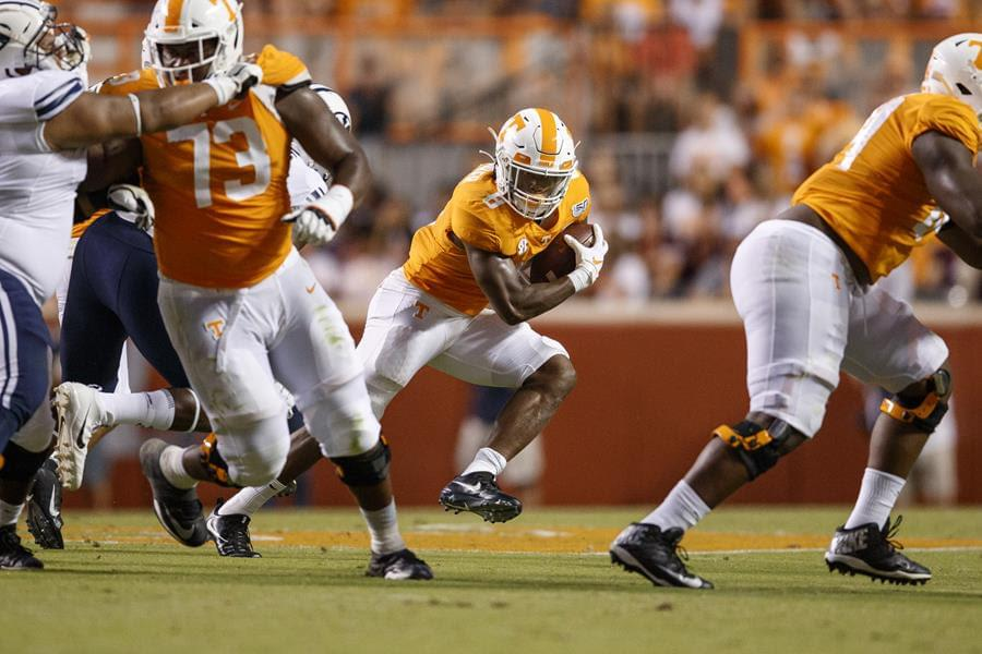 Vols Fall in Double-Overtime to BYU 29-26, start 0-2
