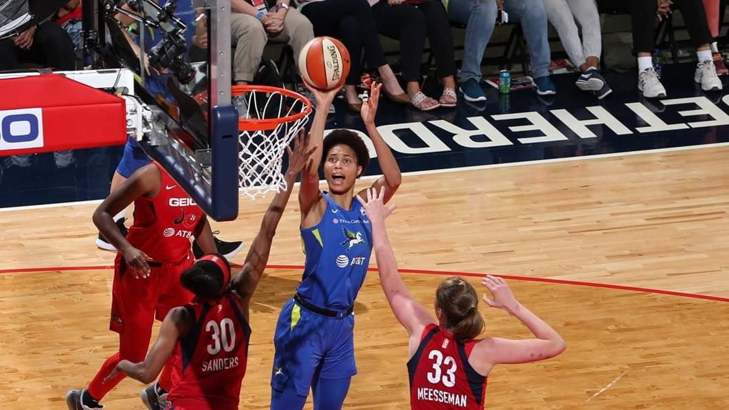 Former Lady VOL Isabelle Harrison Named AP WNBA Comeback Player of Year