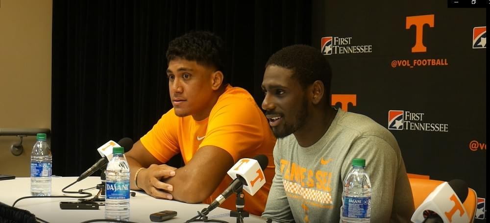 Video: Henry To'oto'o and Tyler Byrd – Chattanooga postgame