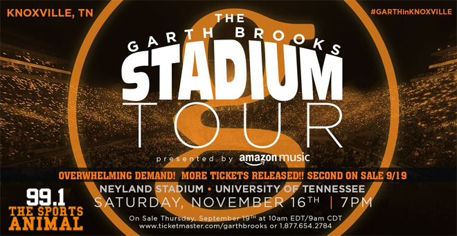 Garth Brooks at Neyland Stadium