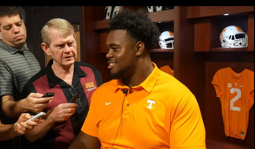 """Video: Kennedy on Florida """"Up front, they're pretty stout"""""""