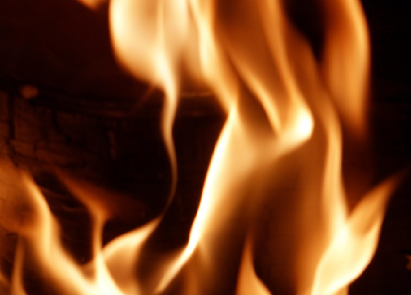 Two Firefighters Treated for Heat Exhaustion