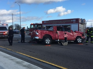 2 In Hospital After Wreck on I-40 Involving Empty Bus | WIVK-FM