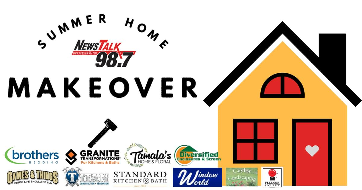 NewsTalk 98.7's Summer Home Makeover