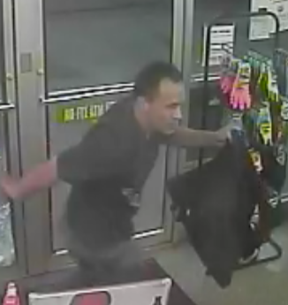 KPD Searching For Man who Robbed N Knox Store