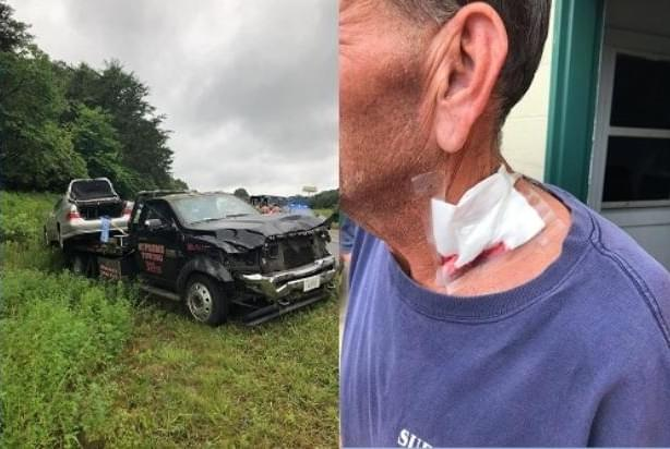 Tow Truck Driver Stabbed and Carjacked